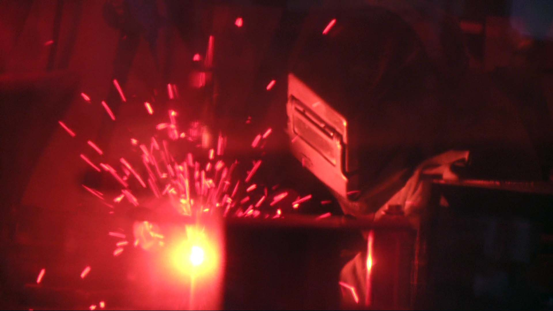 One of our certified welders